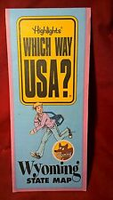 Highlights Which Way Usa Wyoming State Map