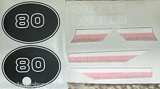 SUZUKI TS50 TS50ER DECAL SET 2