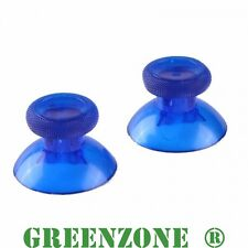GREENZONE ® 2 Analog Thumbstick Thumbsticks for Xbox One 1 Controller Clear Blue