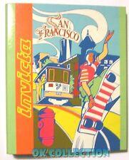 QUADERNO AD ANELLI VINTAGE A5 _ INVICTA SAN FRANCISCO anni '80 (preppy paninaro)