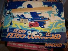 Ferry Command The Flying Fortress Game Milton Bradley Box Top only with extras