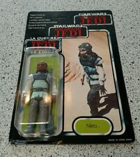STAR WARS RETURN OF THE JEDI NIKTO VINTAGE 1983 MULTI LANGUAGE BRAND NEW ON CARD
