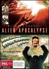 ALIEN APOCALYPSE / MAN with the SCREAMING BRAIN - Bruce CAMPBELL (2 DVD SET) NEW