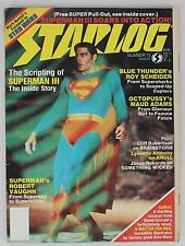 Starlog Magazine #73 1983 August Superman III Blue Thunder Octopussy