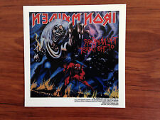 IRON MAIDEN - NUMBER OF THE BEAST - STICKER/DECAL - BRAND NEW VINTAGE - 070