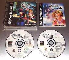 Chrono Cross ☆☆ Complete w/ MINT CASE, EX+ ☆☆ - PS1 Playstation 1