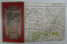 1922 old OS Ordnance Survey one-inch Popular Edition Map 99 Pembroke & Tenby