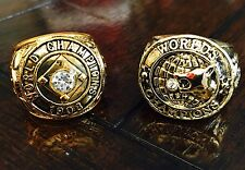 VARY RARE 1908 & 1907 Chicago Cubs World Series Championship Ring Set 2016 USA