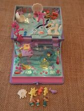 Vintage Bluebird Polly Pocket 1995 Sparkling Mermaid Adventure Book Complete S1