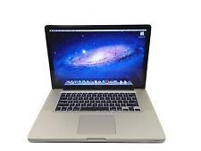 """Apple MacBook Pro Core i7 2.6GHz 8GB 500GB 15.4"""" MD104LL/A   - 1 Year Warranty"""