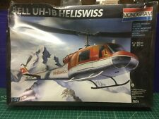 Monogram 1/24 Bell UH-1B Heliswiss Helicopter Model Kit 74014 (Sealed)