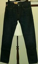 Denim & supply ralph lauren blue jeans tapered straight classic fit taille W34 L34