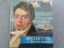 BEETHOVEN - ROMANTIC INTERLUDES - CD -  ALBUM BOOK CASE  (NEW SEALED)