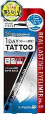 K-Palette 1 Day Tattoo Real Lasting Eyeliner Waterproof (Super Black)