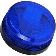 Xenon Low Profile Flashing Blue Strobe For Alarm Systems