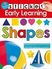 Sticker Early Learning: Shapes by Roger Priddy (2016, Paperback)