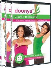 DOONYA BOLLYWOOD STYLE DANCE WORKOUT 3 DVD SET NEW SEALED EXERCISE FITNESS