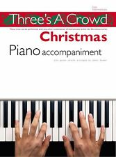 Threes A Crowd Christmas Learn to Play Carols PIANO Guitar PVG Music Book