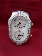 Philip Stein Teslar Dial - 72 DIAMONDS Bezel Setting Women's Watch