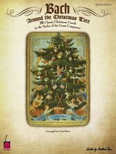 Bach Around the Christmas Tree Sheet Music Piano Collection NEW 002500384