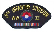 9th Infantry Division WWII Black Hat Patch