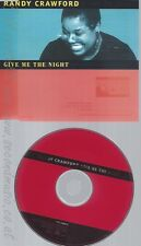 CD--RANDY CRAWFORD - SINGLE -- GIVE ME THE NIGHT