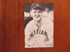 BOSEY  BERGER  Cleveland Indians Signed 3 x 5 Black & White Photo(Died in -1992)