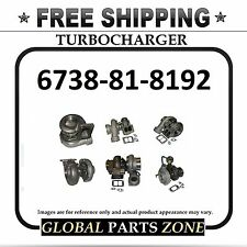 NEW TURBO for KOMATSU 6738-81-8192 PC220-7; PC270-7 FREE DELIVERY