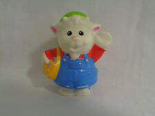 2009 Fisher Price Little People Animalville Goat Postal Carrier / Mailman Figure