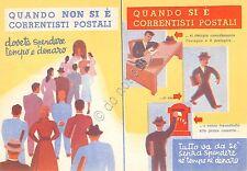 Cartolina - Illustrata - Conti Correnti Postali - Timbro Concorso Ginnastica