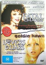FATAL CHARM, LOVERS & LIARS, DOUBLE DVD MOVIE FEATURE Joan Collins, Goldie Hawn