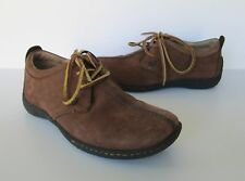 Born Womens Brown Nubuck Suede Leather Tie Oxford Shoes US 6 Eur 36.5