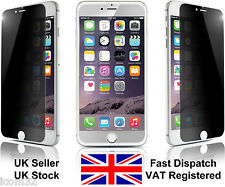 "Apple iPhone 6 (4.7"") tempered glass privacy anti spy screen protector"