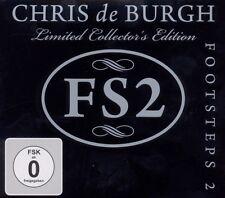 """CHRIS DE BURGH """"FOOTSTEPS 2"""" (CD+DVD) LIMITED EDT NEW+"""