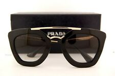 Brand New Prada Sunglasses 09Q 09QS 1AB 0A7 BLACK for Women