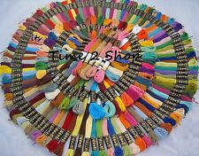 100 New Anchor Solid Stitch Skeins Cotton Embroidery Thread Floss DEMANDING KIT