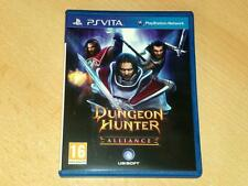 Dungeon Hunter Alliance PSVita Playstation Vita **FREE UK POSTAGE**