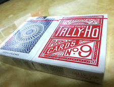 2 PACKS TALLY HO CIRCLE BACK PLAYING CARD ORIGINAL
