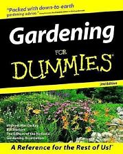 Gardening for Dummies® by Mike MacCaskey and Bill Marken (1999, Paperback,...