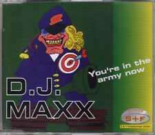 D.J. Maxx - You're In The Army Now - CDM - 1996 - Eurodance Bolland & Bolland