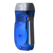2016  Wind up Hand Pressing Crank Emergency Camping LED Flashlight Torch BLUE z5