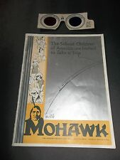 vintage 3D MOHAWK RUBBER COMPANY TIRE MANUFACTURE AKRON Magic Mohawk Spectacles
