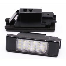 Car LED License Plate Light For Peugeot 207 307 308 508 406 407 Citroen C2 C3 C4