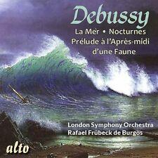 CD DEBUSSY LA MER TROIS NOCTURNES PRELUDE A L'APRES-MIDI D'UNE FAUNE LSO