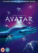 Avatar - Extended Collector's Edition NEW (Blu-ray, 2010, 3-Disc Set, Box Set)