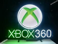 New XBox 360 Game Room Real Glass Neon Sign Home Beer Bar Light FREE SHIPPING