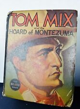 1937 Tom Mix Hoard of Montezuma #1462 ~ BIG LITTLE BOOK ~ (Fine) WH