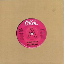 BILLY BUTLER   RIGHT TRACK / INSTR.  UK OUTTA SIGHT/OKEH  Limited Edition DEMO