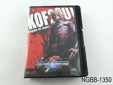 Complete The King of Fighters 2001 AES Neo Geo Japanese Import SNK US Seller B