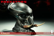 SIDESHOW PREDATORS THE TRACKER MASK PROP REPLICA BUST FIGURE STATUE ALIEN ALIENS